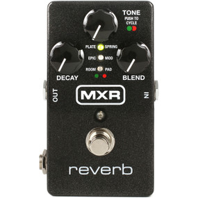 Dunlop MXR M300 Reverb Guitar Effects Pedal w/ Power Supply