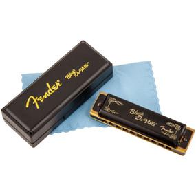 Fender Blues Deville 10-Hole Diatonic Harmonica, Key of C, 099-0702-001