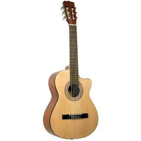 Lucida Mariachi Series LG-RQ2 Solid Top Acoustic Requinto Guitar