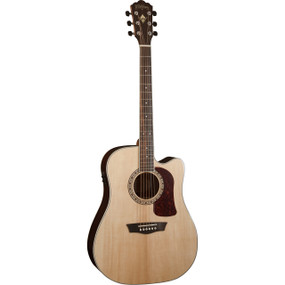 Washburn Heritage Series HD20SCE Dreadnought Cutaway Acoustic Electric Guitar