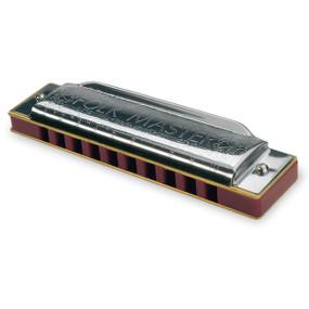 Suzuki 1072-D Folkmaster 10 Hole Diatonic Harmonica w/ Case, Key of D