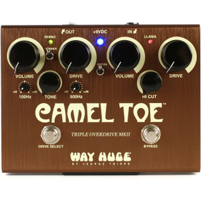 Way Huge WHE209 Camel Toe Triple Overdrive MKII Guitar Effects Pedal