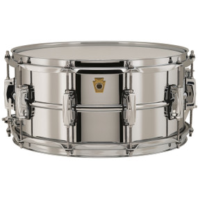 "Ludwig LB402B Supraphonic 6.5""X 14"" Snare Drum, Chrome Plated Brass Shell"