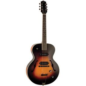The Loar LH-279 Dual P90 Archtop Guitar, Vintage Sunburst Matte