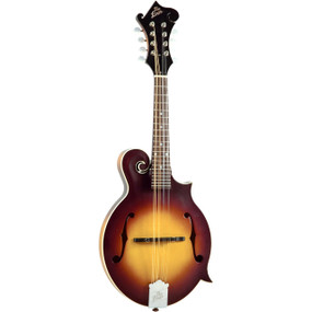The Loar LM-590-MS All Solid Hand Carved F-Style Mandolin, Matte Sunburst