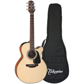 Takamine GX18CE-NS Taka-Mini 3/4 Size Acoustic Electric Guitar w/ Gig Bag