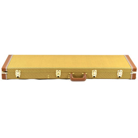 Guardian CG-035-B Tweed Hardshell Case for Electric Bass Guitar