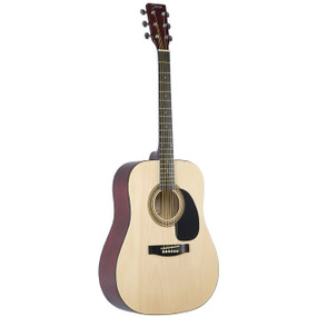 Johnson JG-610-N-3/4 Player Series 3/4 Size Acoustic Guitar, Natural