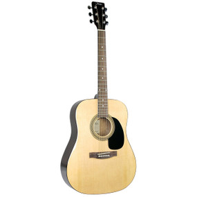 Johnson JG-620-N Player Series Dreadnought Acoustic Guitar, Natural
