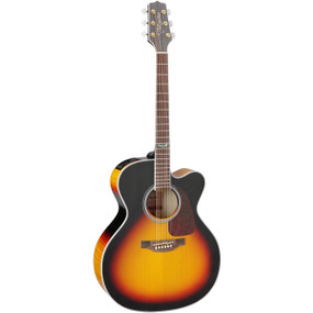 Takamine GJ72CE-BSB Solid Top Jumbo Cutaway Acoustic Electric Guitar, Sunburst