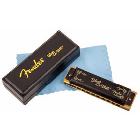 Fender Blues Deville 10-Hole Diatonic Harmonica, Key of A, 099-0702-003