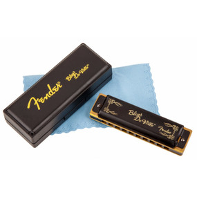 Fender Blues DeVille 10-Hole Diatonic Harmonica with Case, Key of A (099-0702-003)