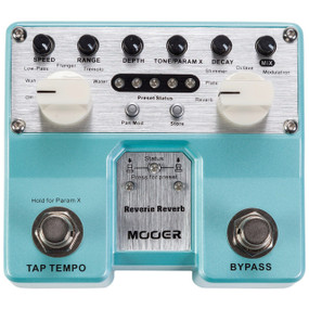 Mooer Reverie Reverb Twin Series Digital Reverb Guitar Effects Pedal, TRV2