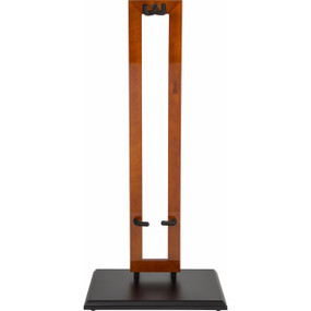 Fender 099-1823-000 Hanging Wood Guitar Stand, Cherry with Black Base