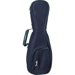 Fender Urban Series Gig Bag for Soprano Ukulele, Black (099-1543-006)