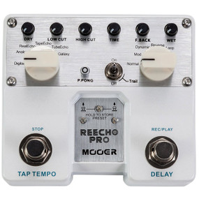 Mooer Reecho Pro Twin Series Digital Delay Guitar Effects Pedal, TDL1