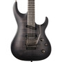 Washburn PXS29FRTBBM Parallaxe Carved Top Electric Guitar w/ Floyd Rose, Flame Trans Black