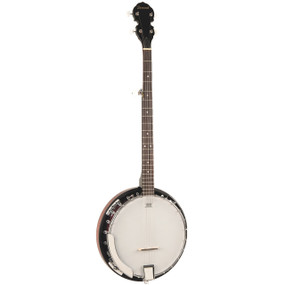 Savannah SB-100 24 Bracket 5-String Resonator Banjo, Closed Back