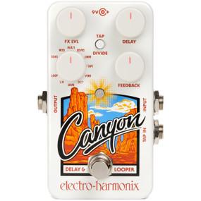Electro-Harmonix EHX Canyon Delay & Looper Guitar Effects Pedal