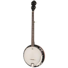 Savannah SB-100-L 24 Bracket 5-String Resonator Banjo, Left Handed
