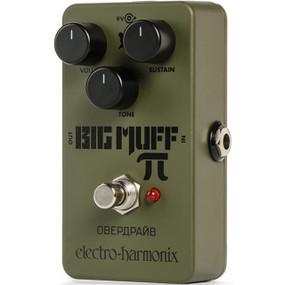 Electro-Harmonix EHX Green Russian Big Muff Pi Distortion/Sustainer Guitar Effects Pedal, RUS BM