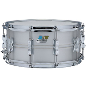 """Ludwig LM405C Acrolite Classic Aluminum Snare Drum, Smooth Shell, Twin Lugs, 6.5""""x 14"""""""