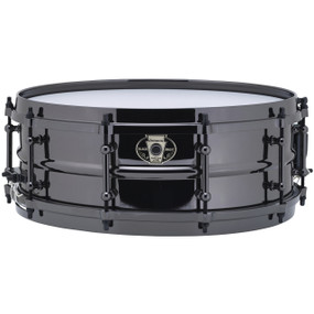 "Ludwig LW5514 Black Magic Snare Drum with Black Chrome Hardware & Tube Lugs, 5.5""x14"""