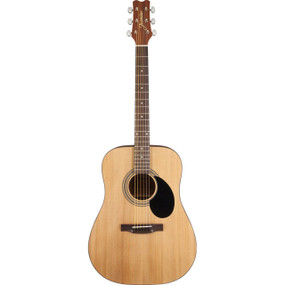 Jasmine by Takamine S35 Dreadnought Acoustic Guitar, Natural (S35)
