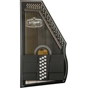 Oscar Schmidt OS73C 21-Chord 1930's Reissue Autoharp, Black