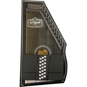 Oscar Schmidt OS73CE 21-Chord 1930's Reissue Electric Autoharp, Black