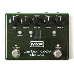 Dunlop MXR M292 Carbon Copy Deluxe Analog Delay Guitar Effects Pedal