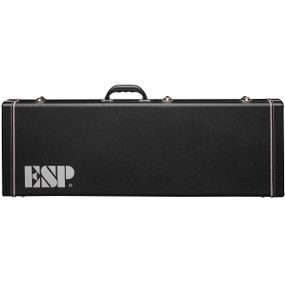 ESP LTD CMHFF Form Fit Hard Shell Case for M, H, MH Series Electric Guitars