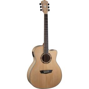 Washburn AG40CEK Grand Auditorium Spruce Top Acoustic Electric Guitar w/ Case