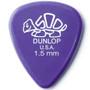 Dunlop 41R1.5 Delrin Standard 1.5mm Guitar Picks, 72 Pack