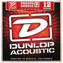 Dunlop DAP1252J Phosphor Bronze 12-String Acoustic Guitar Strings, Medium 12-52