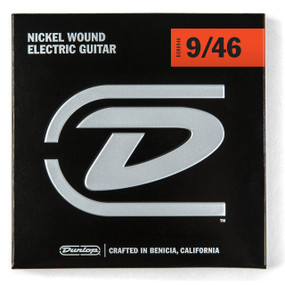Dunlop DEN0946 Electric Guitar Strings, Light Top Heavy Bottom 09-46