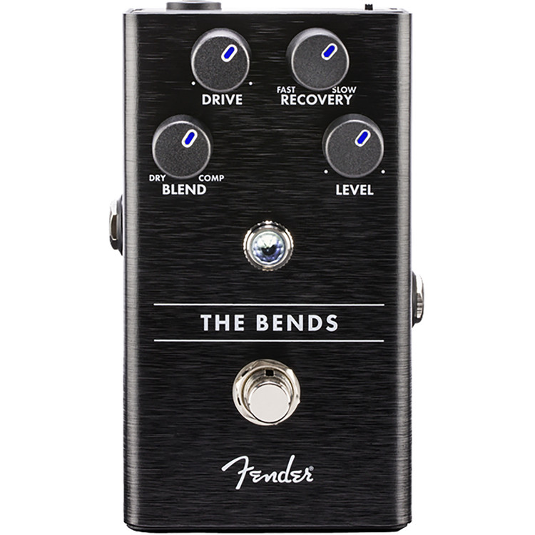 Fender The Bends Compressor Guitar Effects Pedal, 023-4531-000