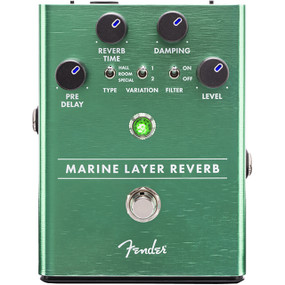 Fender Marine Layer Reverb Guitar Effects Pedal, 023-4532-000