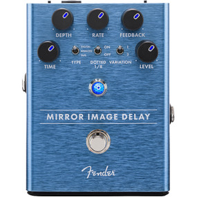 Fender Mirror Image Delay Guitar Effects Pedal, 023-4535-000