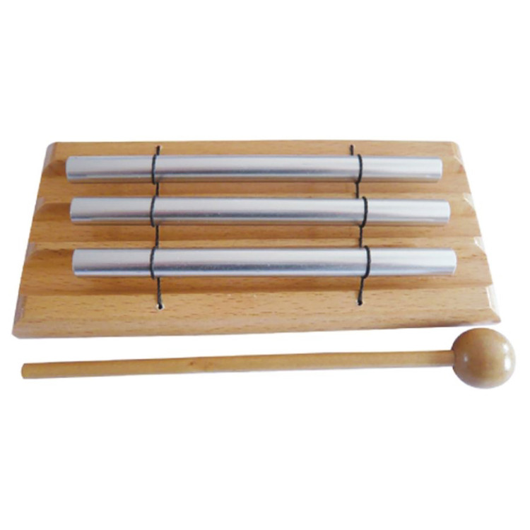 GP Percussion GPBC3 Bar Chime Xylophone with Wood Mallet
