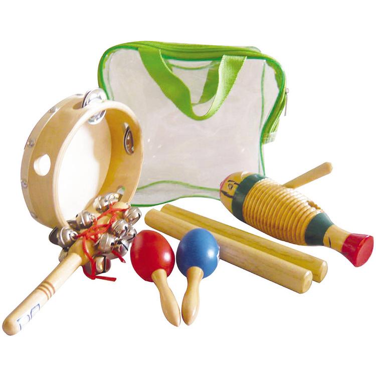GP Percussion GPPK5G Beginner 5-Piece Hand Percussion Pack w/ Bag