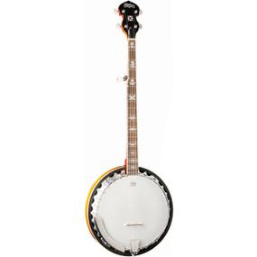 Washburn B10 Americana 30-Bracket 5-String Banjo w/ Mahogany Resonator, Sunburst