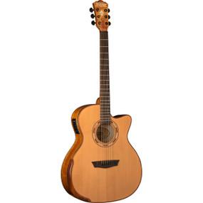 Washburn WCG66SCE Comfort Series Solid Cedar Top Acoustic Electric Guitar