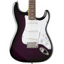 Oscar Schmidt OS-300-PS Double Cutaway Solid-Body Electric Guitar, Purple Sunburst