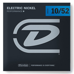 Dunlop DEN1052 Performance+ Electric Guitar Strings, Hybrid Medium 10-52