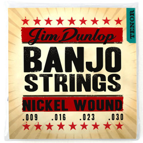 Dunlop DJN0930 Americana Series Tenor Banjo Strings - Loop End, 4-String Set