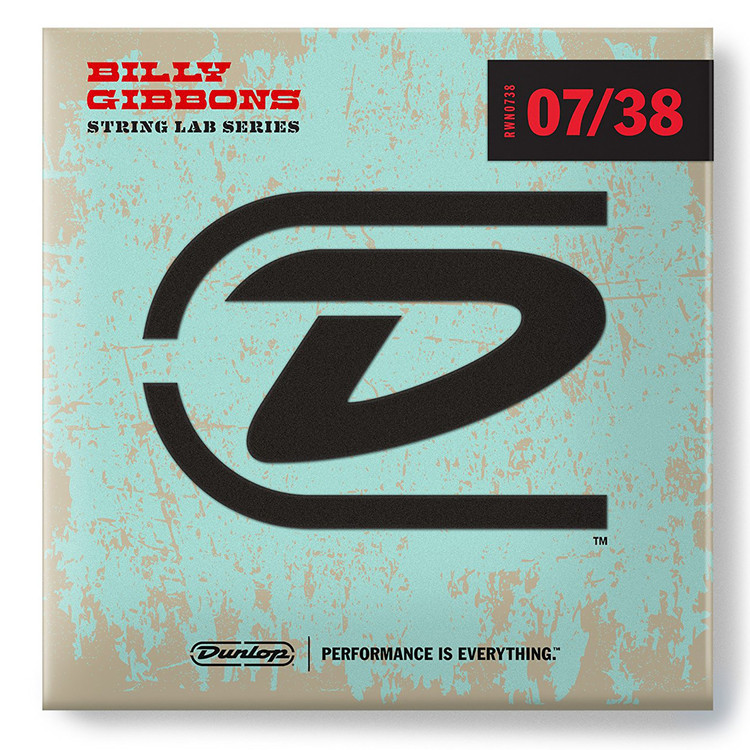 Dunlop RWN0738 Billy Gibbon's Signature Electric Guitar Strings, Extra-Light