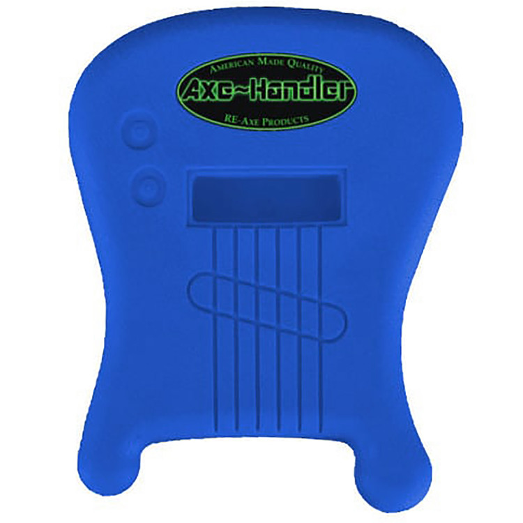 "Axe-Handler ""Strings-In"" Portable Guitar Stand w/ Pick Holder, Blue (AX-SI-BLU)"