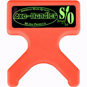 "Axe-Handler S/O ""Strings Out"" Portable Guitar Stand & Neck Support Cradle, Orange (AX-SO-ORG)"