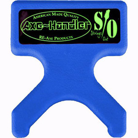 "Axe-Handler S/O ""Strings Out"" Portable Guitar Stand & Neck Support Cradle, Blue (AX-SO-BLU)"